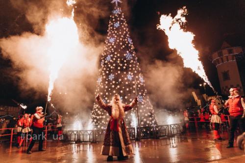 Открытие Новогодней елки и Домика Деда Мороза